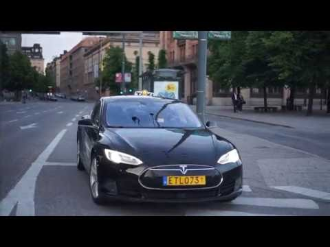 Sweden, TESLA used as TAXI in Stockholm