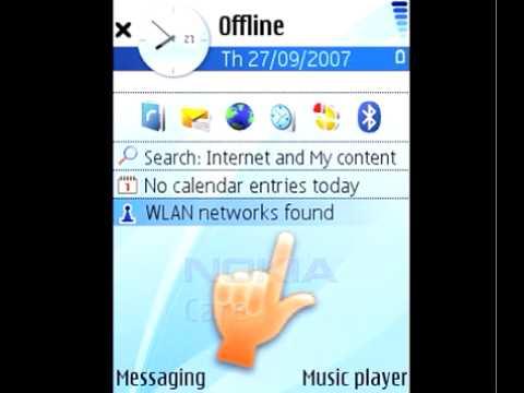 Nokia WLAN connection