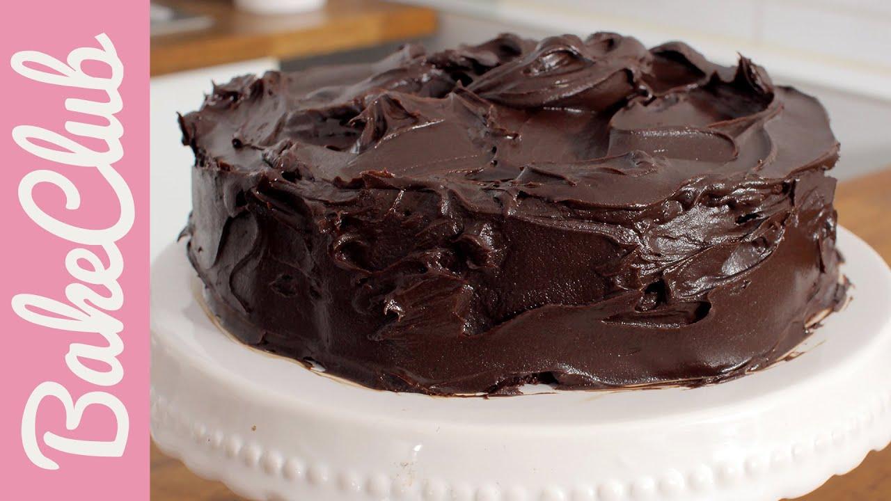Devil's Food Cake | BakeClub - YouTube