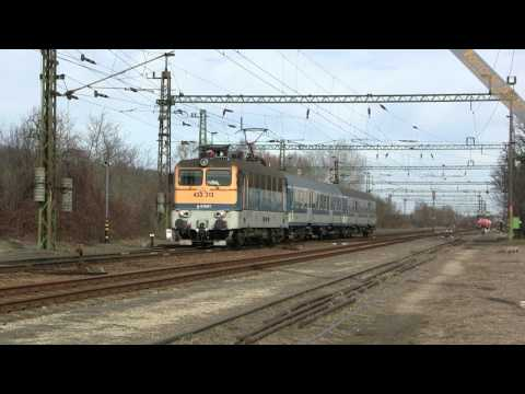 433 313 MÁV - Magyar Államvasutak in transito a Godisa