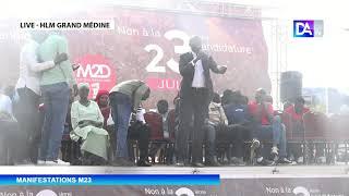 """M23- Dame Mbodj """" nous sommes tous prêts à la déloger du Palais...son mandat est fini"""""""