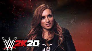 Becky Lynch u0026 Roman Reigns Talk WWE 2K20 Cover