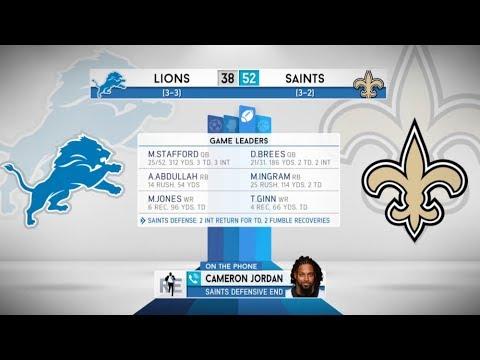 Saints DE Cameron Jordan on Win Over Lions, Aaron Rodgers & More | Rich Eisen Show | Full Interview