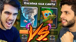 GELLI VS PLAYHARD NO DESAFIO DA ESTRATÉGIA DO CLASH ROYALE!!
