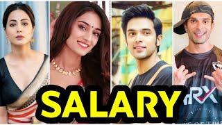 Kasauti Zindagi Ki Season 2 Cast Real Name and Salary 2019