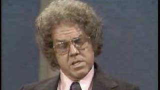 Stan Freberg bitches about overbooked talk shows