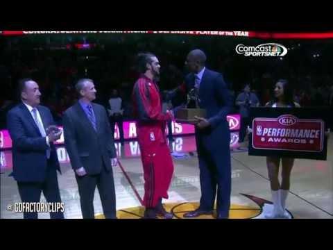 Joakim Noah Full Highlights vs Wizards 2014 Playoffs East R1G2 - 20 Pts, 12 Reb