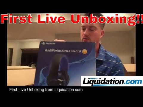 First Live Unboxing from Liquidation.com Polaroid ZIP Printer, VIOFO DashCam and MORE MSRP $1,507
