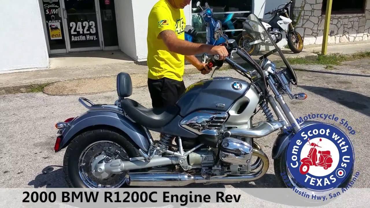 2000 bmw r1200c blue used motorcycle engine rev youtube. Black Bedroom Furniture Sets. Home Design Ideas
