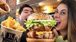 B. de Burger - A melhor hamburgueria do Rio 2018
