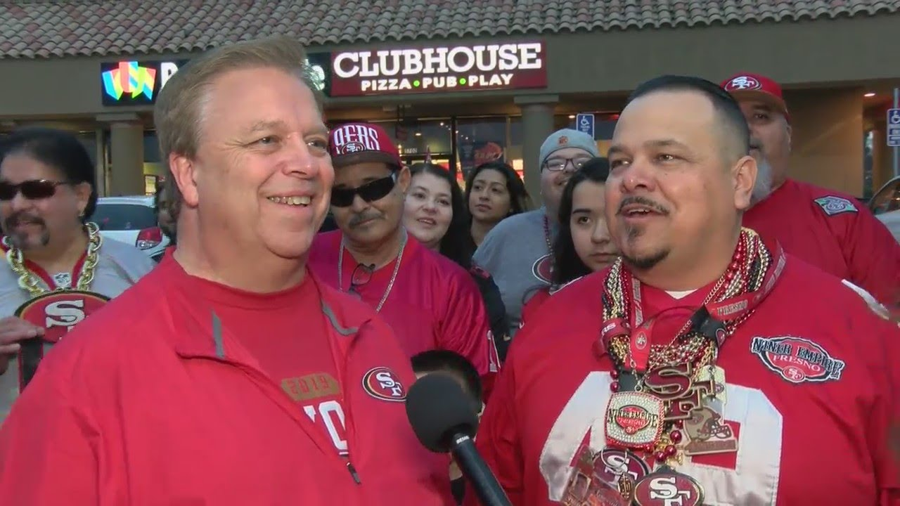 Eyewitness Hundreds of local fans celebrate 49ers victory in NFC Championship