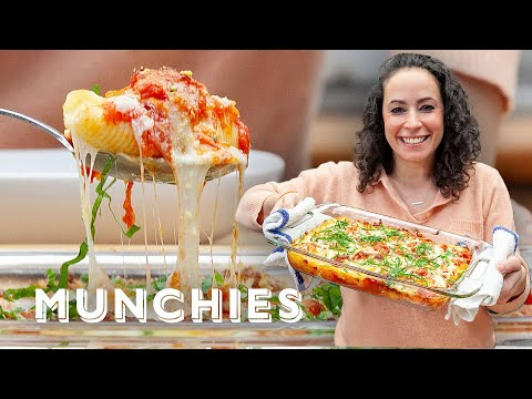 Stuffed Shells with Farideh – The Cooking Show