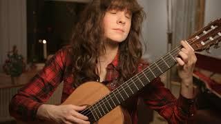 Sankta Lucia, arrangement for guitar by Laura Snowden