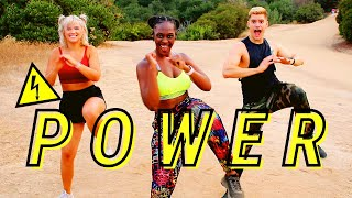 Little Mix - POWER feat. Stormzy  Morning dance WORKOUT for women at home
