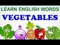 Learn English Words Vegetables for Kids | Cartoon Vegetable Videos for Kids | Kids Learning Videos