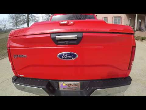 WEST TN 2015 FORD F150 RACE RED XLT 4X4 SUPERCREW ECOBOOST USED FOR SALE PRICE WWW SUNSETMOTORS COM