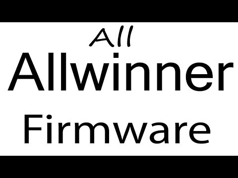 Download Allwinner All Models Stock Rom Flash File & Tools (Firmware) Allwinner Android Device