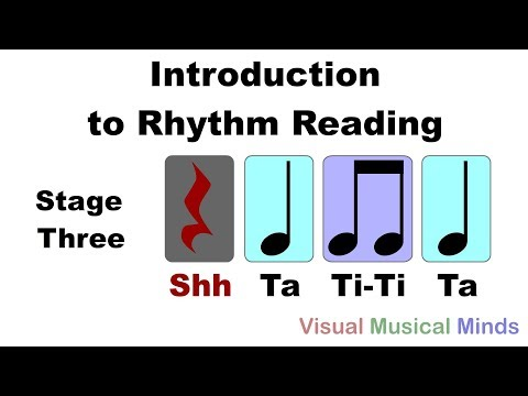 Introduction to Reading Rhythms: Stage Three