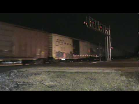 Union Pacific westbound freight in Memphis,TN