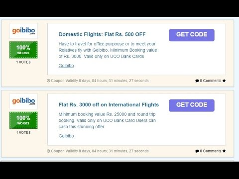 How To Get The Best Goibibo Coupon And Use To Get Discounts On Flight Tickets