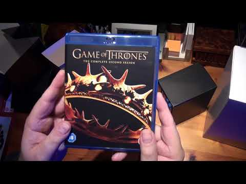 Game Of Thrones - Season 1-6 Bronze Bust Edition [Blu-ray] Unboxing