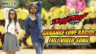 Masterpiece Annange Love Aagidhe Kannada Movie Song Video , Yash , V Harikrishna