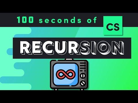 Recursion in 100 Seconds