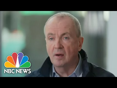 One-On-One With New Jersey's Governor Amid A Rise In Covid Cases   NBC Nightly News