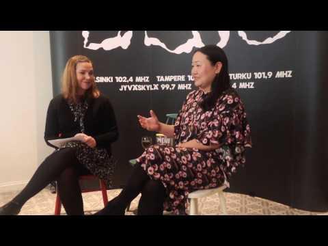 KIRSIN BOOK CLUB / Hanya Yanagihara in interview in Helsinki