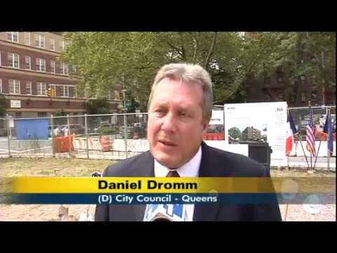 NY1: Groundbreaking Held For New Junior High School In Jackson Heights