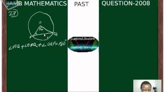 (www.jamb.org.ng) Jamb Maths Past Question And Answer 2008 Qn27