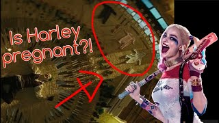 is harley quinn pregnant   suicide squad theory cootspiracy