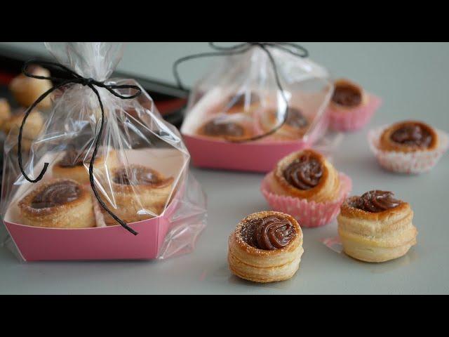 ひとくちまんまるガナッシュパイ♡ |  Chocolate Mini pie