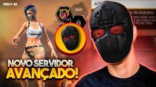 CEROL - SERVIDOR AVANÇADO NO FREEFIRE! - AO VIVO - LIVE ON