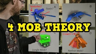 Minecraft - 4 Minecon Mobs In Colour - UNDERWATER  Theory