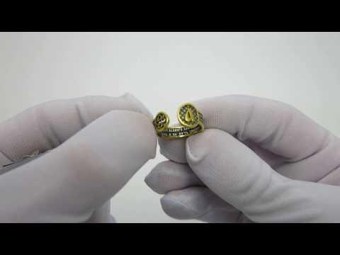 Серебряное кольцо  Оберег 14857-ЗЧ