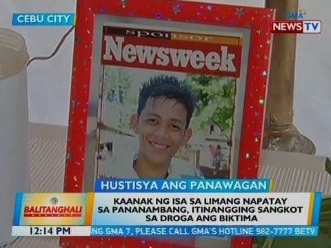 BT: Kaanak ng isa sa 5 napatay sa pananambang sa Cebu City, itinangging sangkot sa droga ang biktima