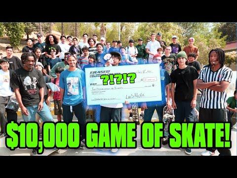 $10,000 GAME OF SKATE