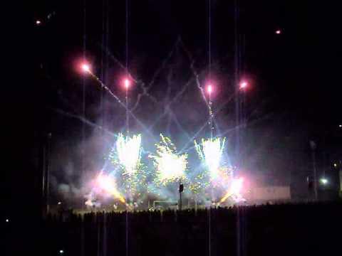 Anzano del Parco - Festa Paesana 2012 -  spettacolo piromusicale