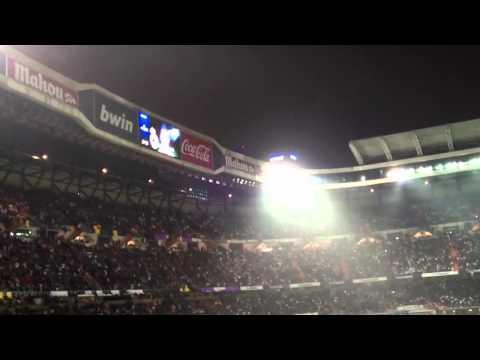Santiago Bernabéu stadium 10.12.2011 Real Madrid VS Barcelona