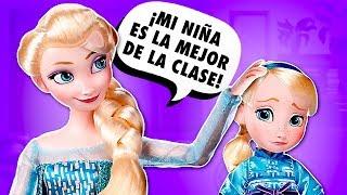 😱 ¡ELSA se ESCAPA del PRIMER DÍA de CLASES! │ Disney Frozen 2!