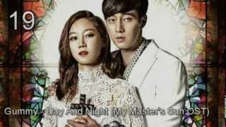 MY TOP 20 KOREAN DRAMA OST OF 2013
