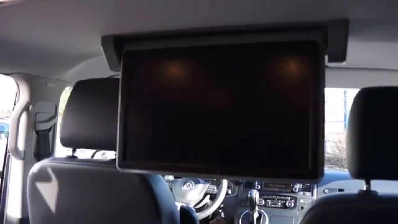 vw t5 multivan rear entertainment system 18 5 zoll full hd. Black Bedroom Furniture Sets. Home Design Ideas