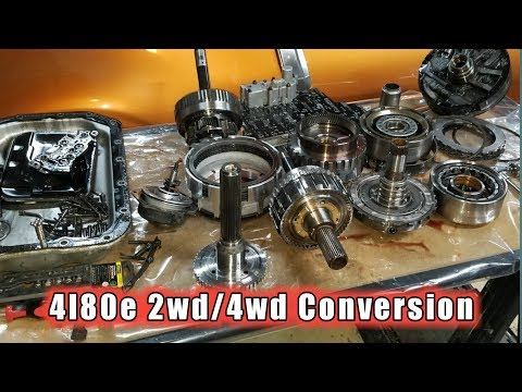 4l80e 4wd 2wd differences for 4x4 4wd 2wd Conversion!!! - YouTube