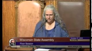 10/27/2009: Selena Fox gives opening invocation for WI State Assembly