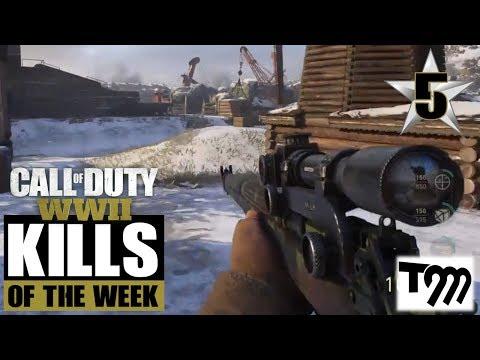 Call of Duty WW2 - TOP 10 KILLS OF THE WEEK #5