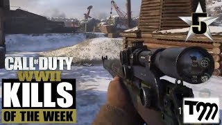 Call of Duty WW2 - TOP 10 KILLS OF THE WEEK #5