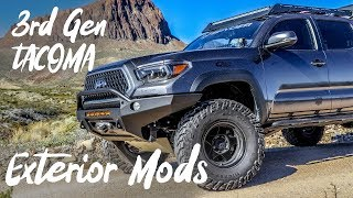 3rd Gen Toyota Tacoma Exterior Mods - Build walk-around