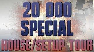 Video 20K SUBS SPECIAL - HOUSE/SETUP TOUR download MP3, 3GP, MP4, WEBM, AVI, FLV September 2018