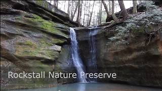 Rockstall Nature Preserve Waterfalls